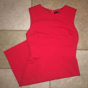 Beautiful Zara red sheath dress